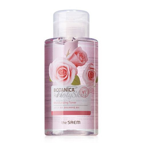 Botanica Rose Moisturizing Toner 400ml The Saem купить