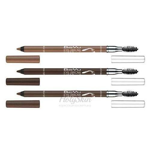 Водостойкий карандаш для бровей с щёточкой BeYu BeYu Eyebrow Liner Waterproof фото