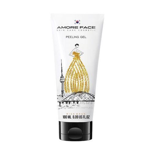 Купить Пилинг-гель для очищения кожи Amore Face, Amore Face Peeling Gel Rice Bran, Южная Корея