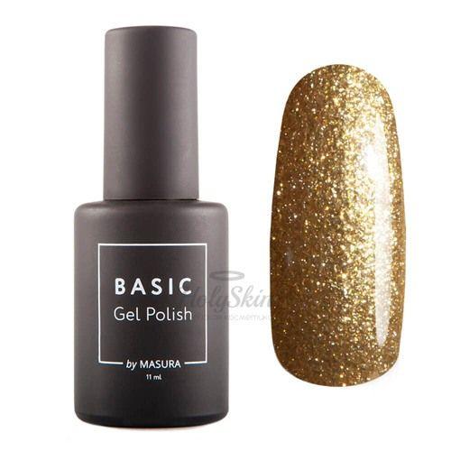 Гель-лак Basic 294-493 Золотая Пудра 11 мл гель-лак светло-золотой с золотым мерцанием от masura купить