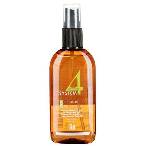 Купить Терапевтический лосьон-спрей для поврежденных волос Sim Sensitive, System 4 Chitosan Hair Repair R, Финляндия