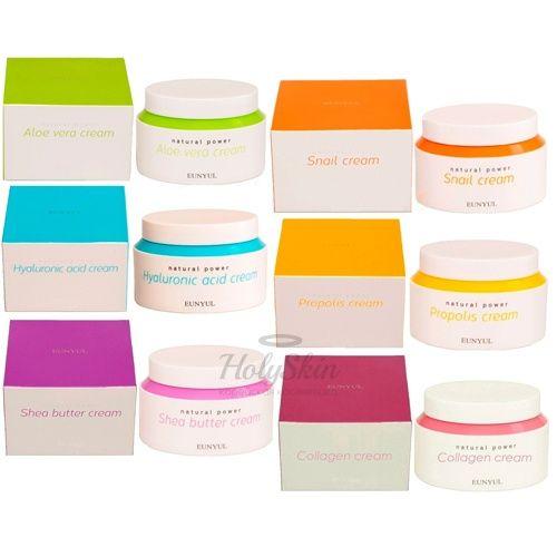 Купить Интенсивный крем для лица Eunyul, Natural Power Cream, Южная Корея