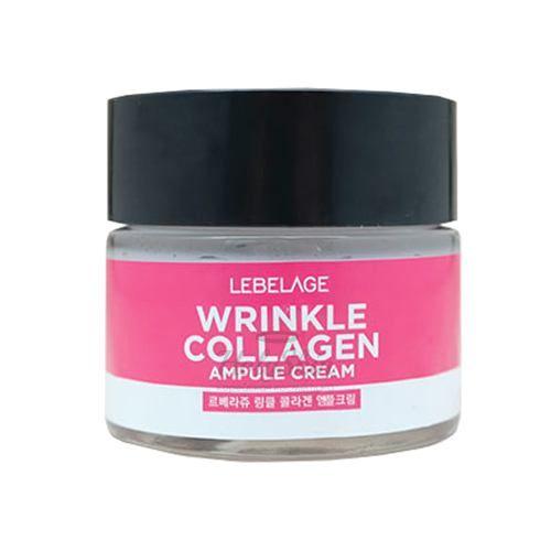 Купить Ампульный антивозратной крем с коллагеном Lebelage, Ampule Cream Wrinkle Collagen, Южная Корея
