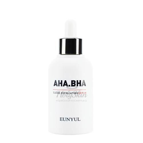 Обновляющая сыворотка с АНА и ВНА кислотами Eunyul AHA.BHA Clean Exfoliating Serum фото