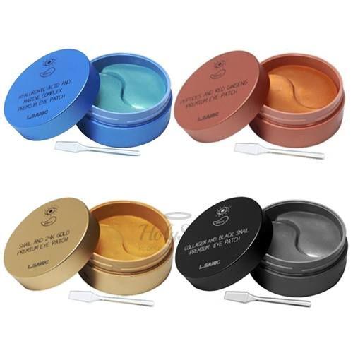 Купить Гидрогелевые патчи для глаз L'Sanic, Premium Eye Patch, Южная Корея