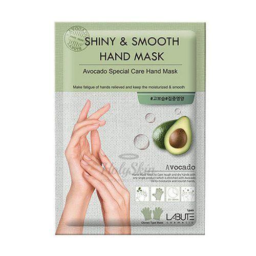 Купить Маска-перчатки для рук LABUTE, Shiny and Smooth Hand Mask, Южная Корея