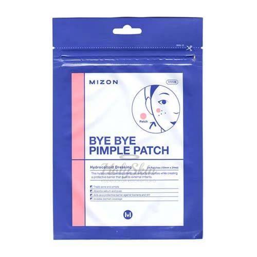 Гидроколлоидные патчи против воспалений Mizon — Bye Bye Pimple Patch
