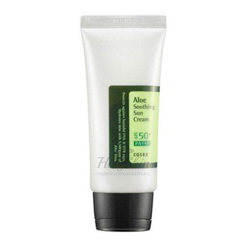 Купить Солнцезащитный увлажняющий крем CosRX, Aloe Soothing Sun Cream, Южная Корея