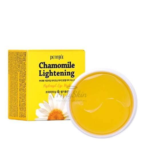Гидрогелевые патчи для век Petitfee — Chamomile Lightening Hydrogel Eye Patch