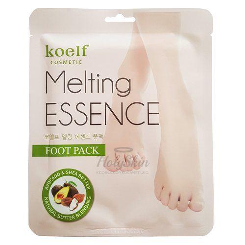 Маска для ног в виде носочков Koelf — Melting Essence Foot Pack