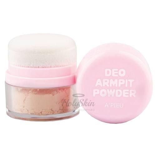 Купить Дезодорирующая пудра A'Pieu, Deo Armpit Powder, Южная Корея
