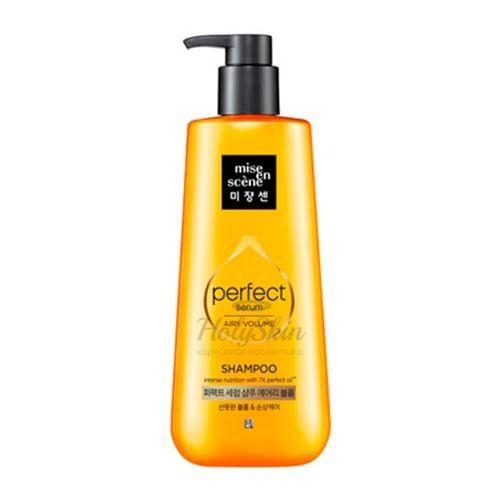 Купить Питательный шампунь для волос Mise En Scene, Perfect Serum Shampoo Airy Volume, Южная Корея