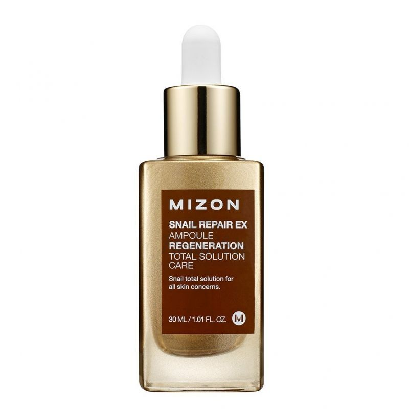 Snail Repair EX Ampoule Mizon отзывы