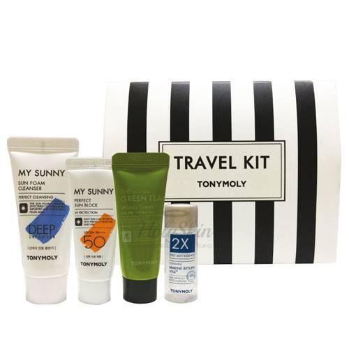 Купить Набор косметических средств для путешествий Tony Moly, Tony Moly Travel Kit, Южная Корея