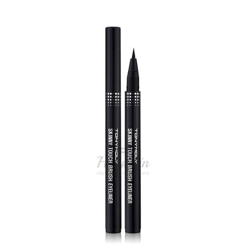 Купить Подводка-маркер для глаз Tony Moly, Skinny Touch Brush Gel Eyeliner, Южная Корея