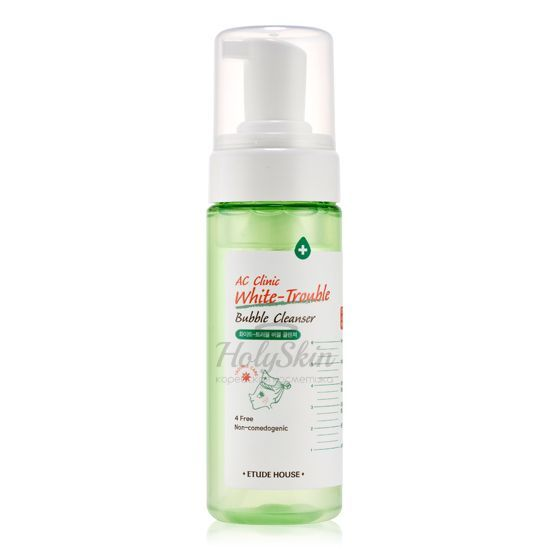 AC Clinic White Trouble Bubble Cleanser отзывы