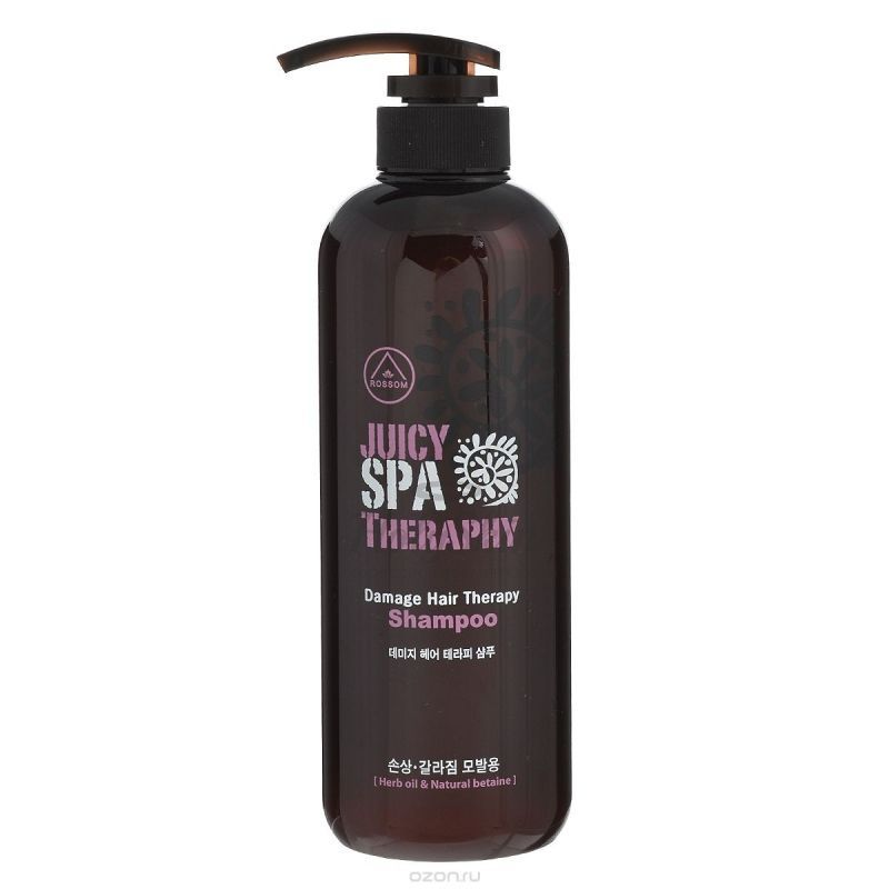 Rossom Shampoo Juicy Spa Therapy купить
