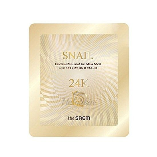 Snail Essential 24K Gold Gel Mask Sheet The Saem
