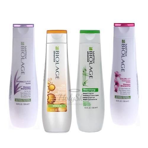 Серия ухаживающих шампуней для волос MATRIX