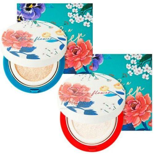 Основа-кушон под макияж It's Skin Be A Flower Tone-Up Cushion фото