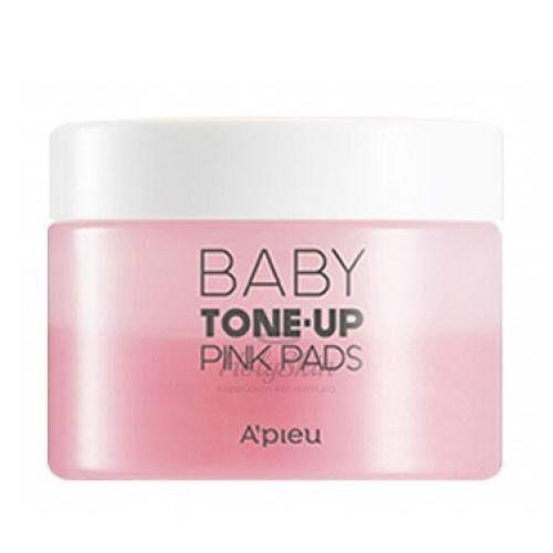 Купить Увлажняющие пады A'Pieu, Baby Tone-Up Pink Pads, Южная Корея