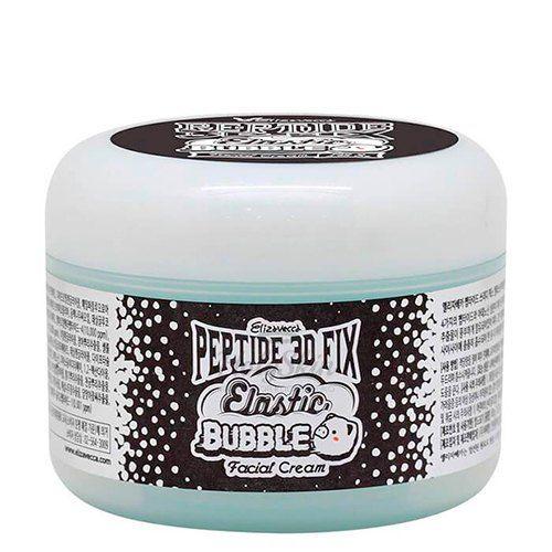 Купить Кислородный крем для лица Elizavecca, Peptide 3D Fix Elastic Bubble Facial Cream, Южная Корея