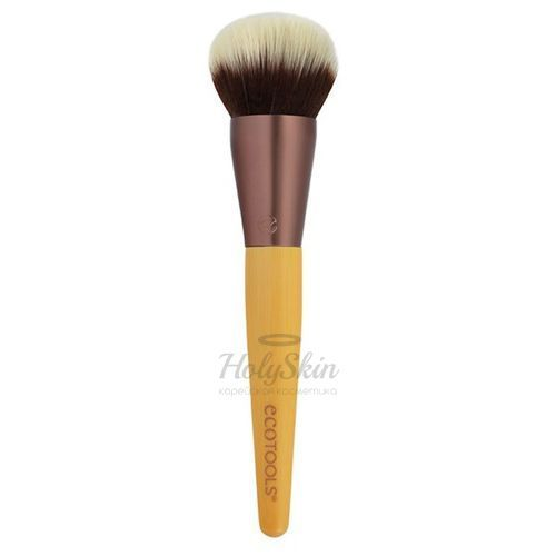 Кисть для растушевки и бронзера EcoTools EcoTools Blending and Bronzing Brush фото