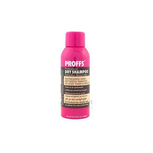 Сухой шампунь для тёмных волос Proffs