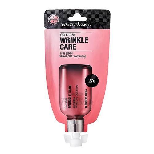 Купить Омолаживающий крем для лица Veraclara, Collagen Wrinkle Care Cream, Южная Корея