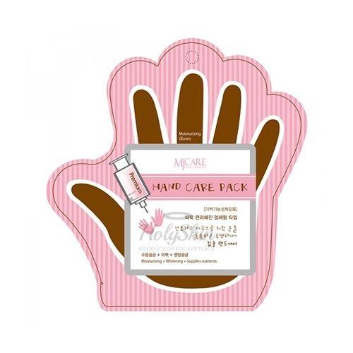 Укрепляющая маска для рук Mijin MJ Premium Hand care pack фото
