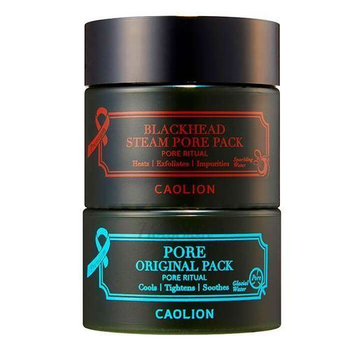Premium Hot & Cool Pore Pack Duo Mini Caolion купить
