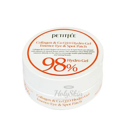 Collagen and Co Q10 Hydro Gel Essence Eye Patch Petitfee отзывы