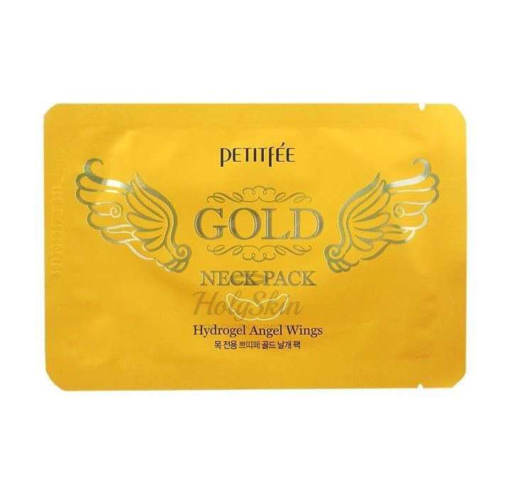 Angel Wings Gold Neck Hydrogel Pack Petitfee