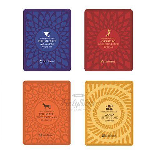 Купить Тканевая маска для лица Mijin, Selection Prestige Mask, Южная Корея