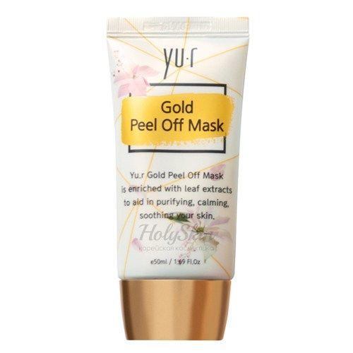 Золотая маска-пленка для лица Yu.R — Gold Peel Off Mask