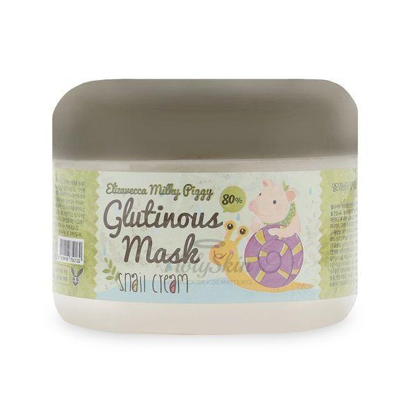 Milky Piggy Glutinous Mask 80% Snail Cream