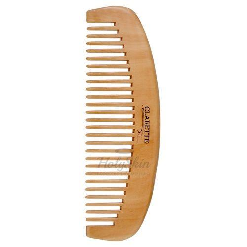 Купить Деревянная расческа-гребень для волос Clarette, Расческа - гребень для волос деревянная, Франция