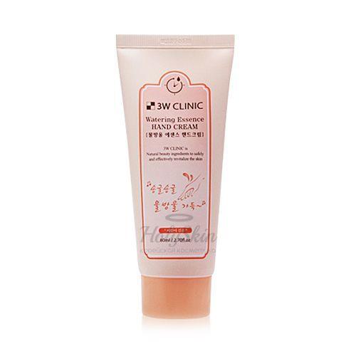 Купить Крем-эсенция для рук 3W Clinic, Watering Essence Hand Cream, Южная Корея