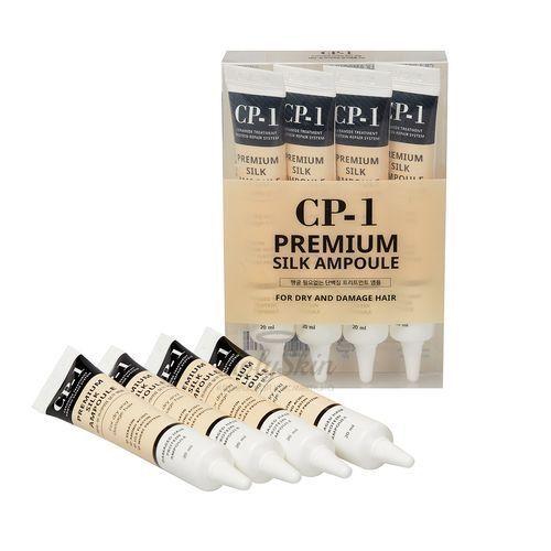 Купить Набор ампульных сывороток для волос Esthetic House, CP-1 Premium Silk Ampoule Set, Южная Корея