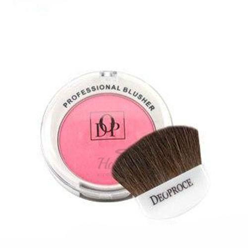 Матовые румяна с кистью Deoproce — Makeup Blusher