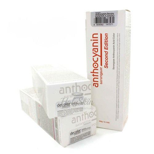 Средство для деликатного удаления пигмента красителя Anthocyanin — Anthocyanin Decolor
