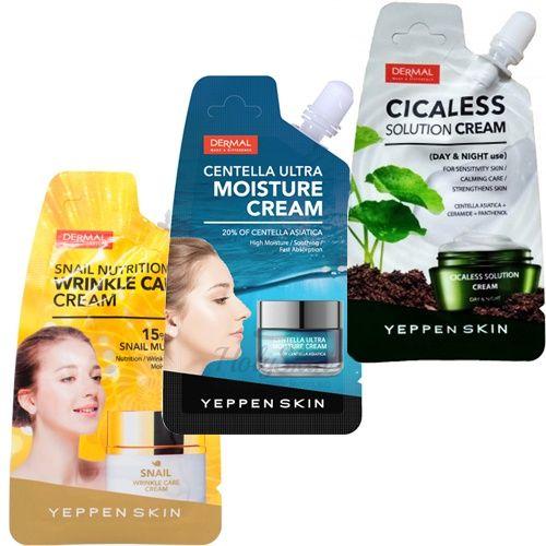 Купить Крем для лица Dermal, Yeppen Skin Cream, Южная Корея