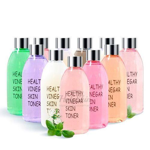 Купить Уксусный тонер с ферментированными экстрактами Realskin, Healthy Vinegar Skin Toner, Южная Корея