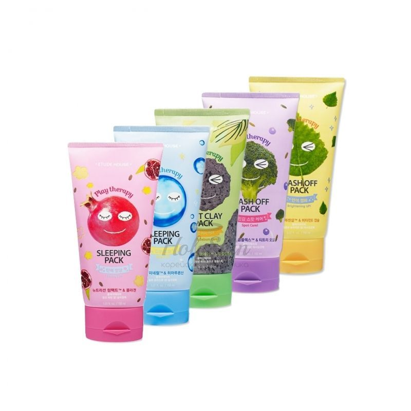 Play Therapy Wash Off Pack Etude House