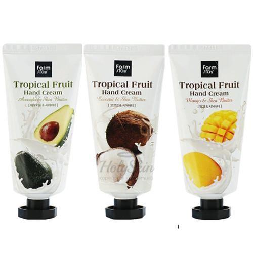 Крем для рук Farmstay Tropical Fruit Hand Cream фото