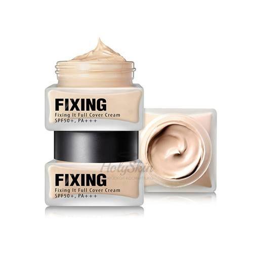 Купить Успокаивающая тональная основа So Natural, Fixing It Full Cover Cream, Южная Корея