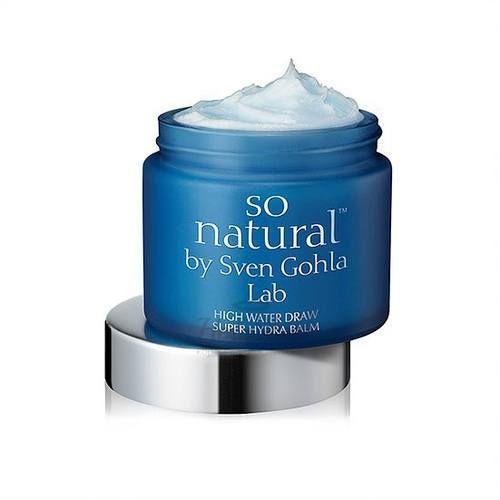 Купить Экстра-увлажняющий крем-бальзам для сухой кожи So Natural, High Water Draw Super Hydro Balm, Южная Корея