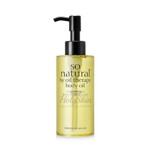 Купить Увлажняющее масло для тела So Natural, Intensive Body Oil, Южная Корея