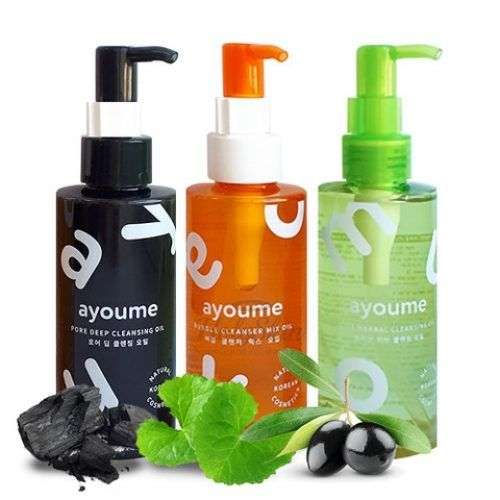 Купить Серия глубоко очищающих масел для лица Ayoume, Ayoume Cleansing Oil, Южная Корея