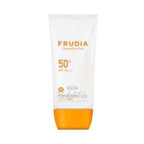 Купить Солнцезащитная тональная крем-основа Frudia, Tone Up Base Sun Cream, Южная Корея